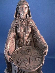 Celtic Goddess Danu who morphed into Saint Anna, grandmother of Jesus. Become Ordained as her priestess or priest!