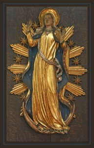 Mary Sophia God-the-Mother Christian Goddess ascending to heaven being crowned Queen of Heaven