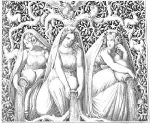 Viking Goddesses, the Norns: Courage, Truth, Honor