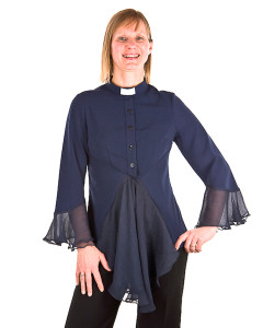 Become an ordained minister rabbi priest pastor and wear this feminine clergy fashion